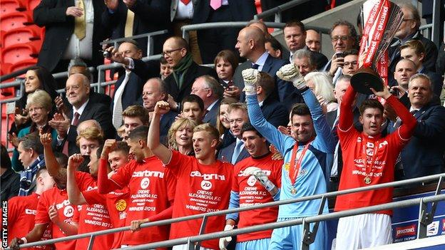 Crewe are the Johnstone's Paint Trophy holders