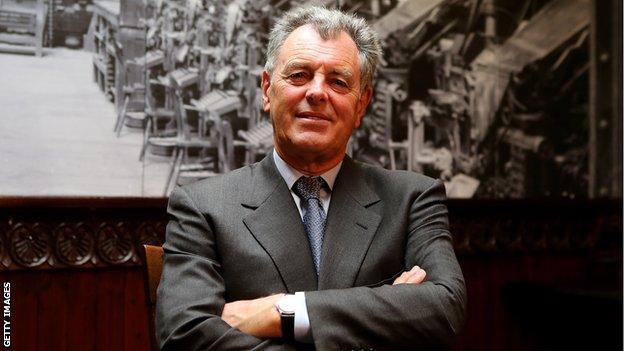 Former Ryder Cup captain Bernard Gallacher