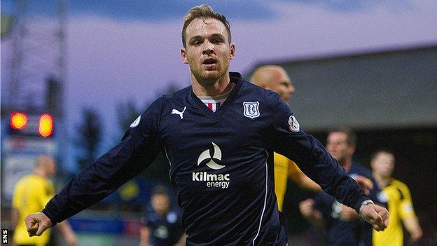 Carlo Monti opened the scoring for Dundee