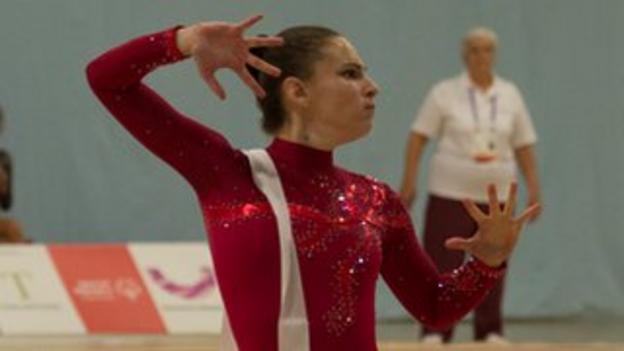 Gymnast Hannah Westerman