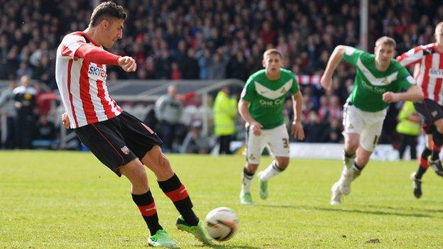 Marcello Trotta's last-minute penalty miss against Doncaster