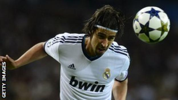 German midfielder Sami Khedira has scored eight goals in 128 appearances for Real Madrid