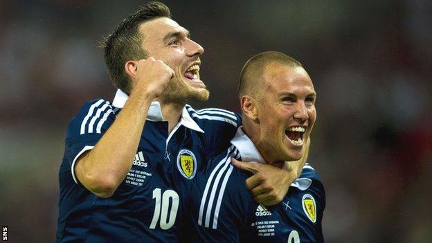 Robert Snodgrass and Kenny Miller