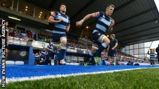 Cardiff Blues will be playing on a new artificial pitch this season