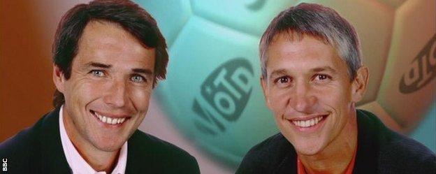 Alan Hansen and Gary Lineker