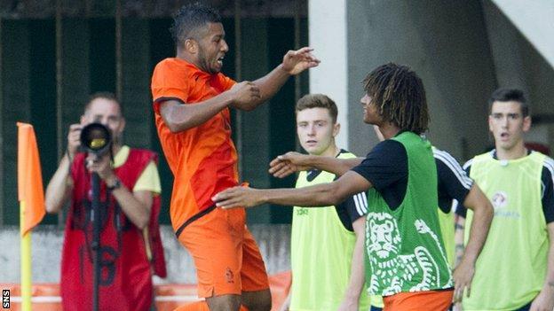 Tonny Trindade de Vilhena opened the scoring for the Netherlands