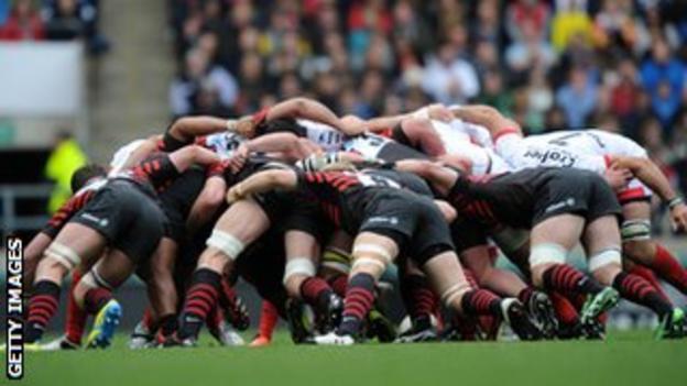 Rugby union scrum