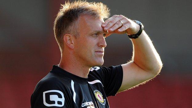 Steve Davis, Crewe Alexandra manager