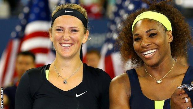 Victoria Azarenka and Serena Williams