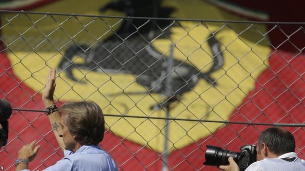 Ferrari president Luca Cordero di Montezemolo