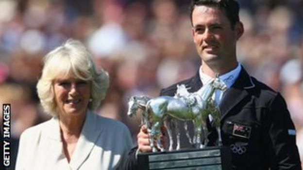 Duchess of Cornwall and Jonathan Paget