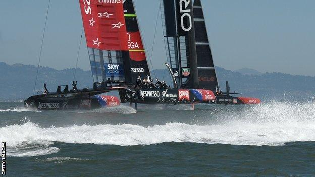 Emirates Team New Zealand and Oracle