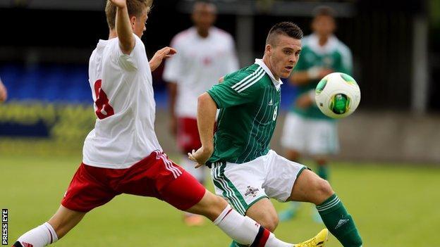 Northern Ireland Under-21's Josh Carson