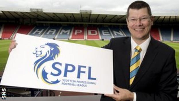 SPFL chief executive