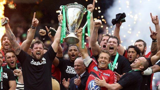 Toulon are the current Heineken Cup holders