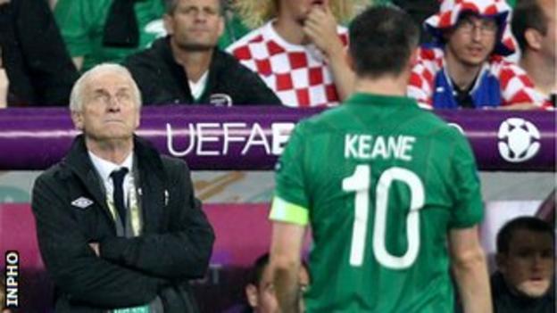 Trapattoni's Republic failed to win a point at Euro 2012