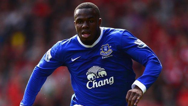 Everton and Nigeria's Victor Anichebe