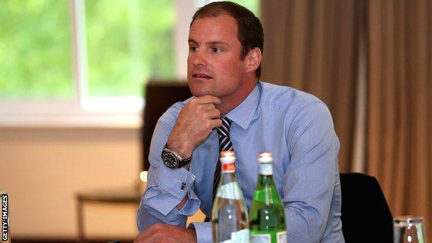Former England captain Andrew Strauss