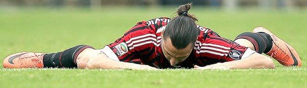 Zlatan Ibrahimovic at Milan