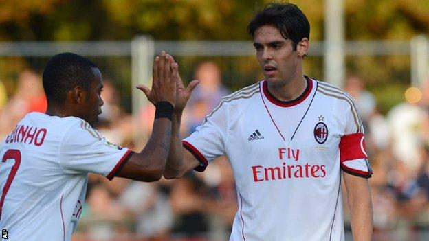 AC Milan's Kaka
