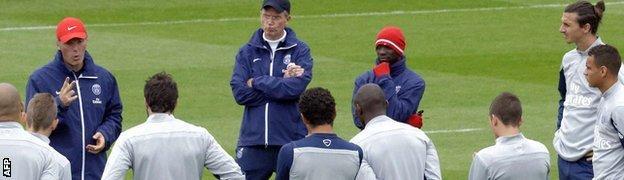 Laurent Blanc and Paris St-Germain