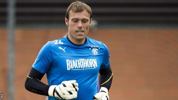 Steve Simonsen has joined Rangers