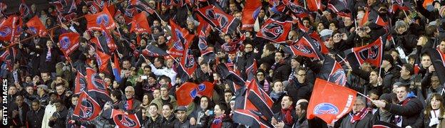 Paris St-Germain fans