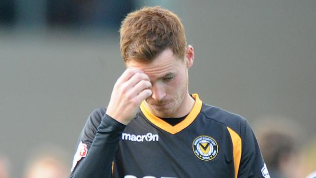 It was a bad day at the office for Newport County's Tom Naylor who scored two own goals and conceded a penalty in his team's 3-2 home defeat against Morecambe.