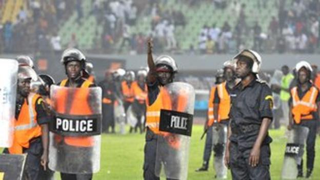 Senegal's match against Ivory Coast in October was abandoned because of riots