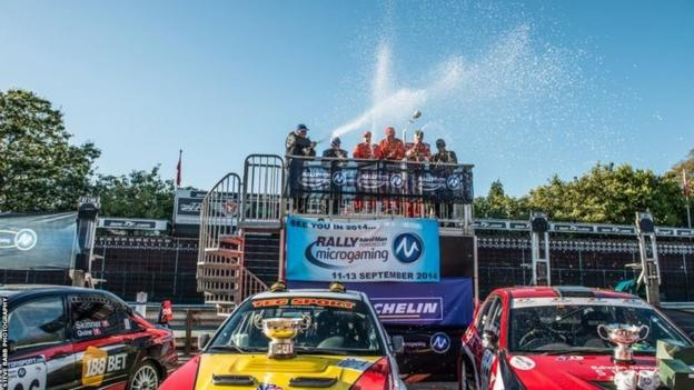 Pat Bettridge and Paul Gelling (Subaru) won the Manx Trophy Rally by a huge margin of 7 minutes 46.6 seconds from runners-up Wayne Ellis and Sarah Harbour.