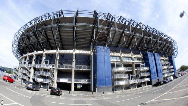 Scottish Rugby HQ, Murrayfield Stadium