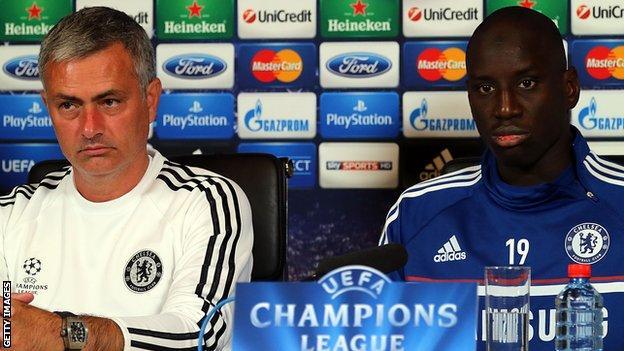 Jose Mourinho Demba Ba