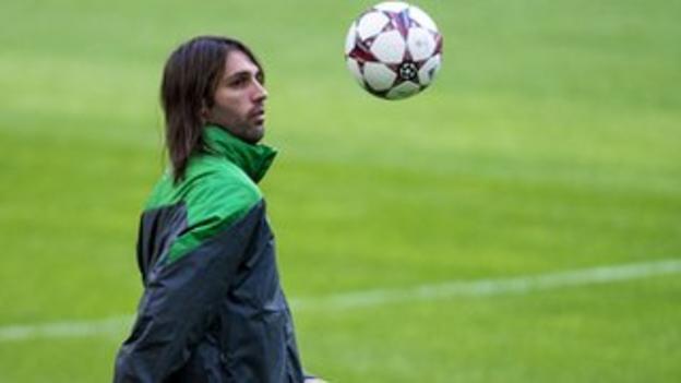 Celtic forward Georgios Samaras