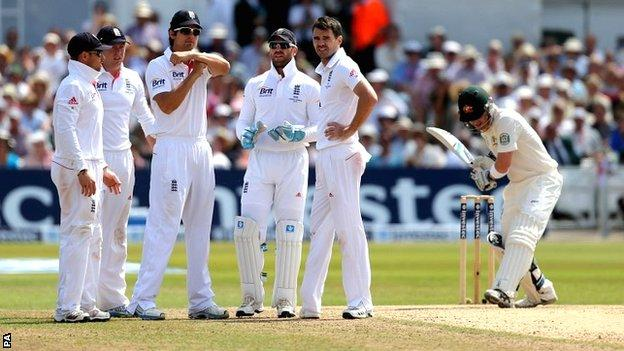 England captain Alastair Cook calls for a review