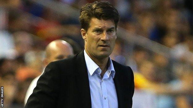 Michael Laudrup watches his side beat Valencia