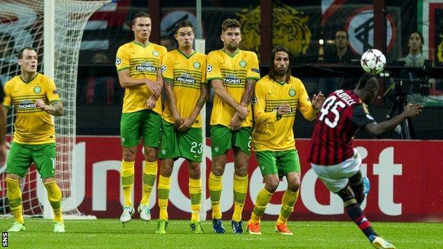 AC Milan v Celtic