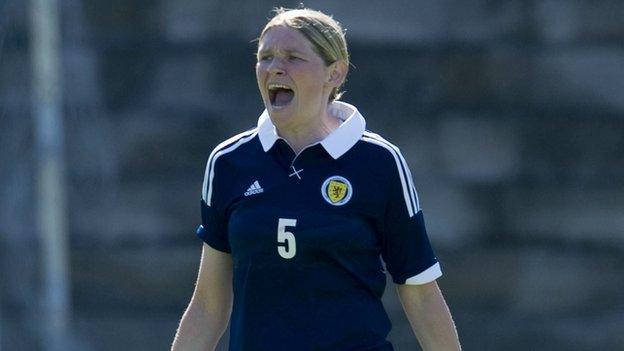 Scotland defender Leanne Ross