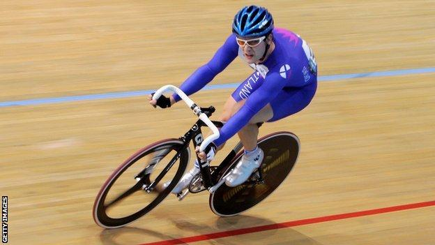 Scottish Commonwealth Games cyclist Evan Oliphant will be in action in Manchester