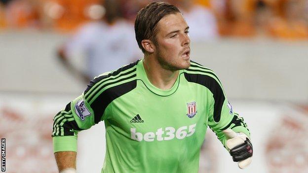 Jack Butland Barnsley loan