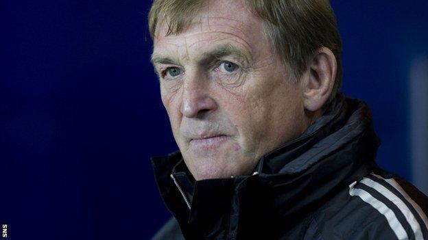 Former Celtic player Kenny Dalglish