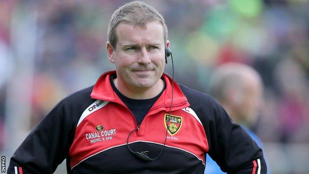 James McCartan is manager of Down