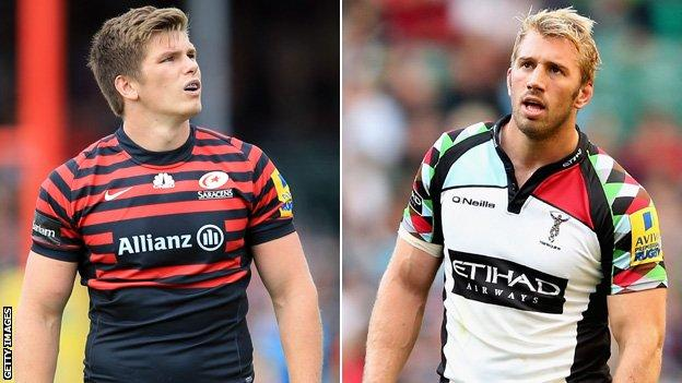 Owen Farrell & Chris Robshaw