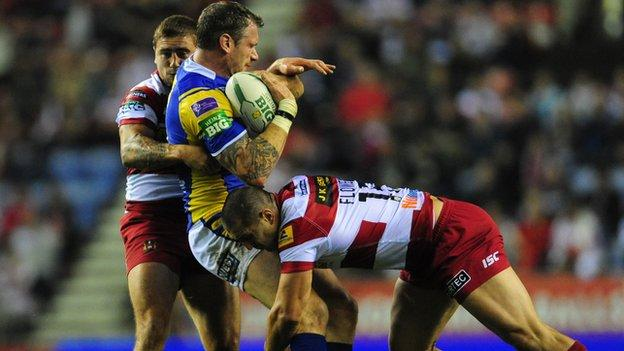 Wigan v Leeds, play-off semi-final