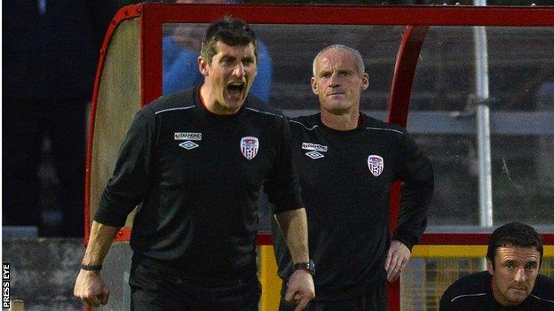 Declan Devine and Paul Hegarty