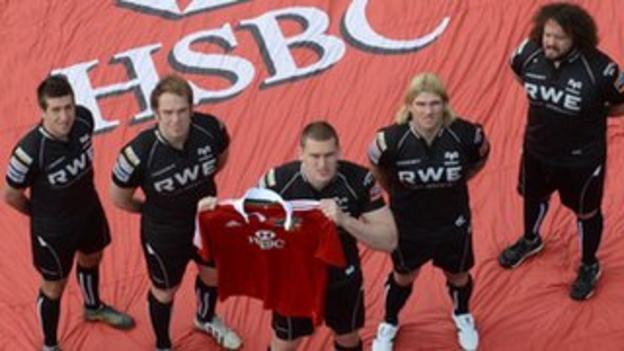 The Lions' five 2013 British and Irish Lions