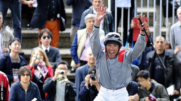 Frankie Dettori will ride Mount Treve