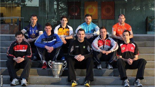 Ulster teams at GAA launch