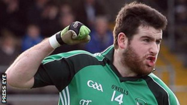 Seamus Quigley is a key player for Roslea