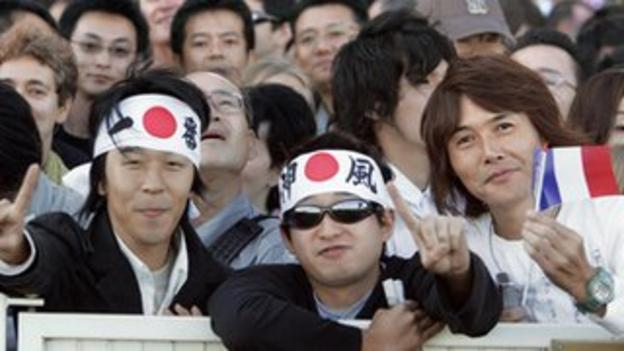 Japanese racing fans have been a regular sight at the Arc since Deep Impact's win in 2006