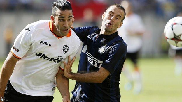 Valencia defender Adil Rami